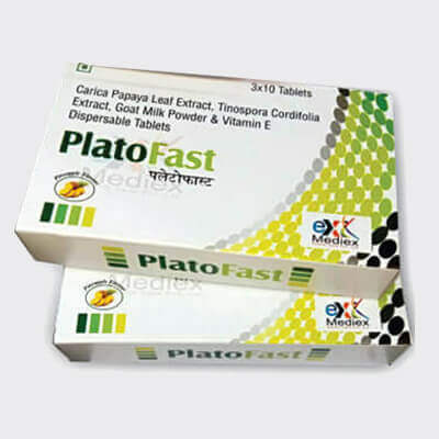 Mediex Healthcare - Products(PLATO FAST)